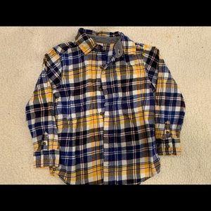 Boys 5-6T Sweater/Button up Bundle